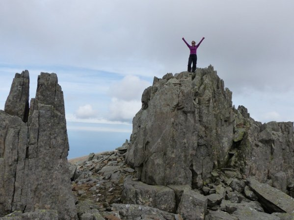The 100 highest mountains in Wales011