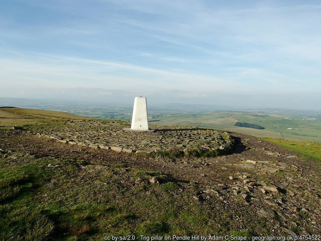 Walk up Pendle Hill from Barley