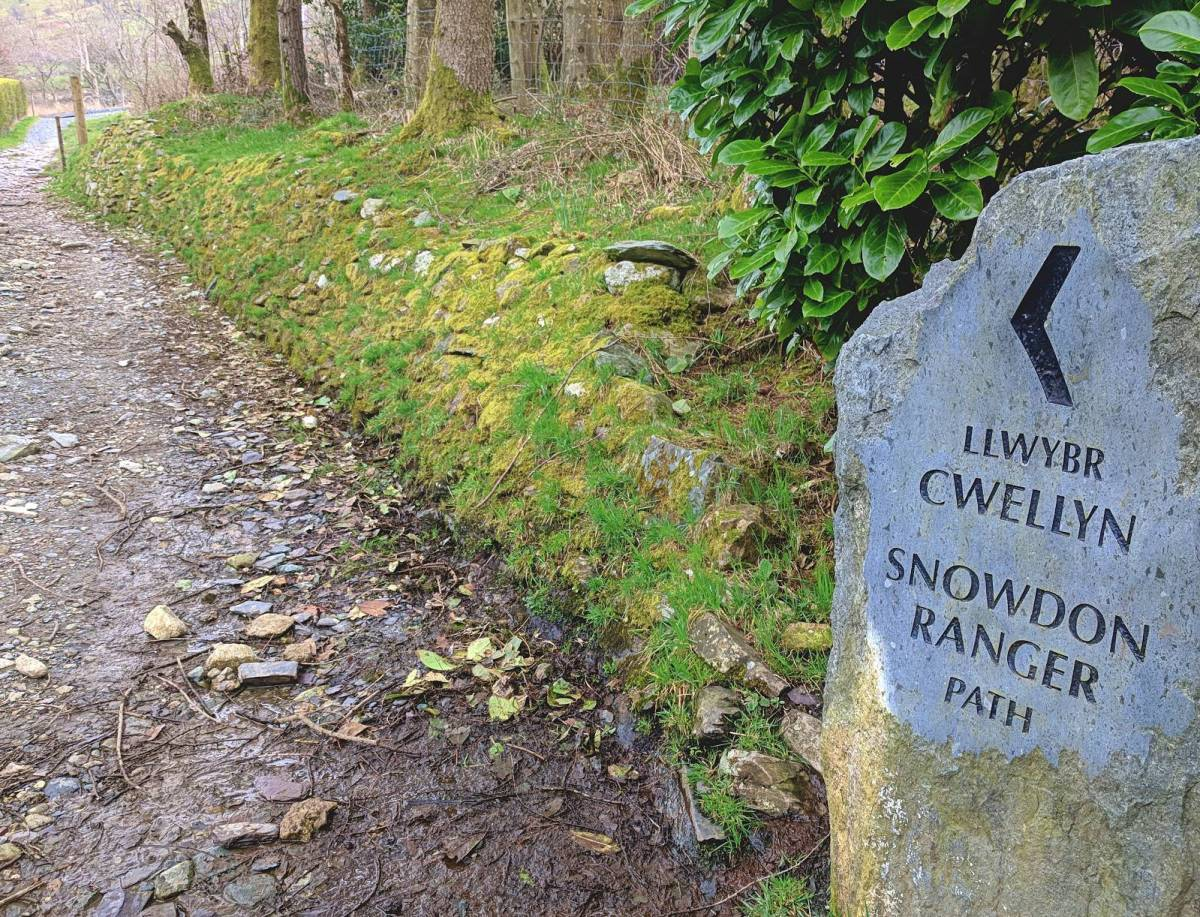 Walk up the Snowdon Ranger Path