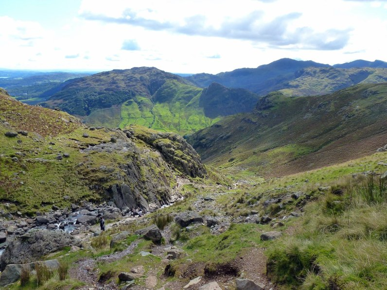 IMG01_The top of the Stickle Gill path