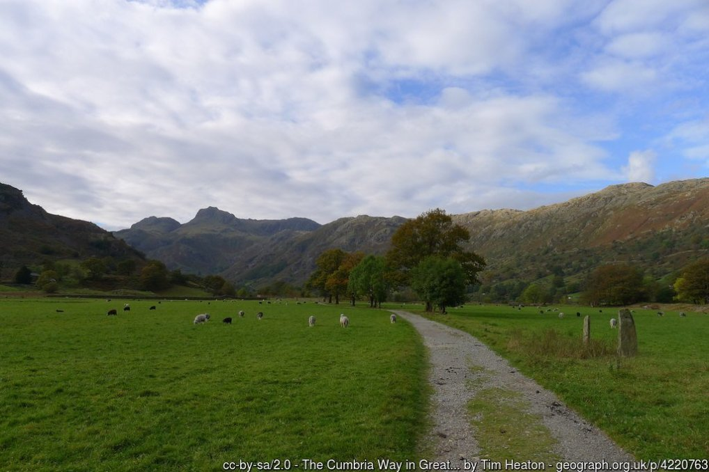 Chapel Stile And Great Langdale Low Level Walk
