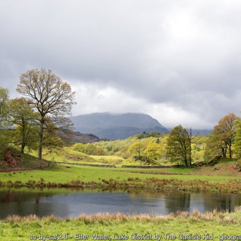 Easy Walk between Elterwater and Skelwith Bridge