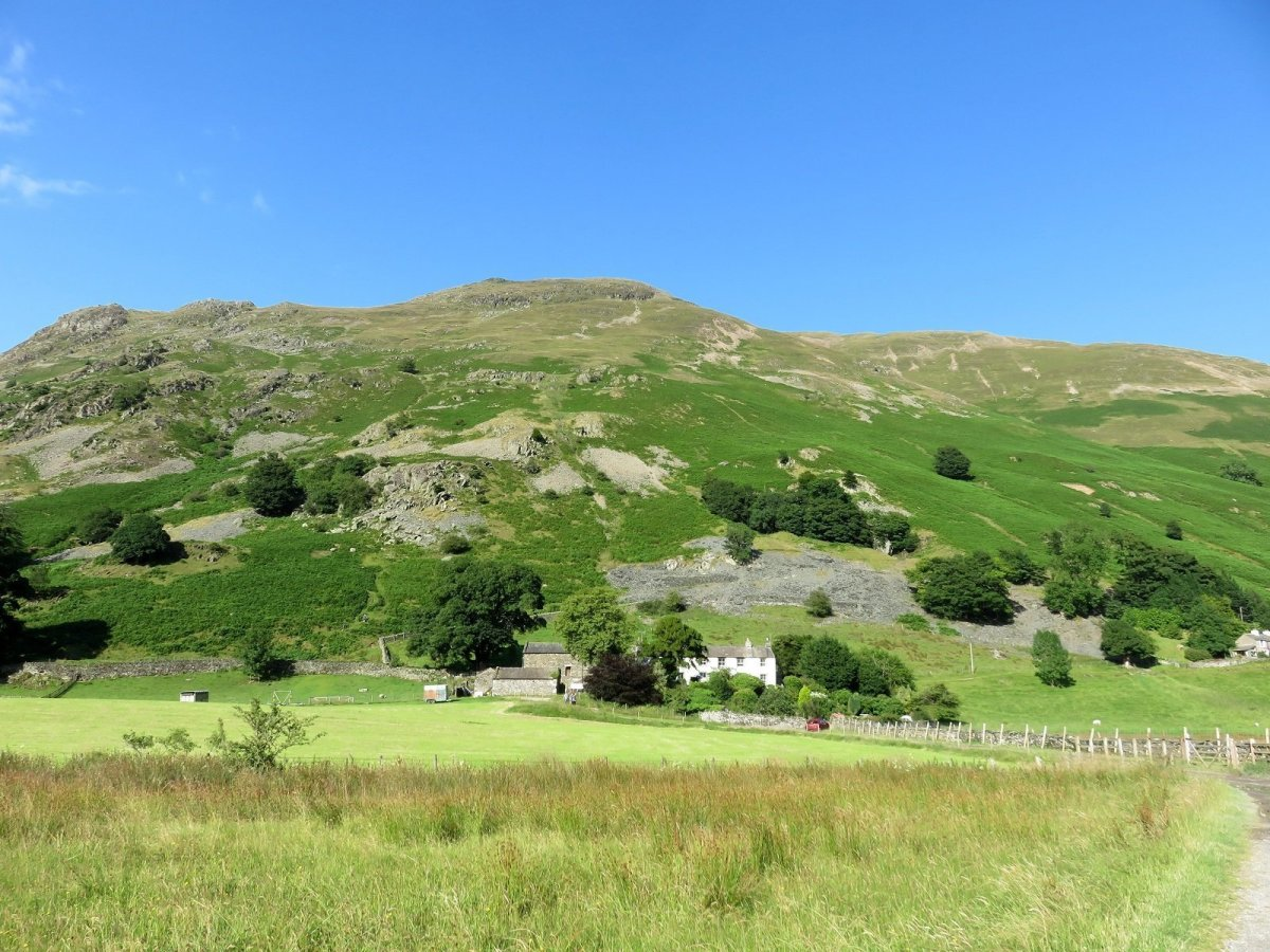 Walk up High Street from Patterdale and Glenridding