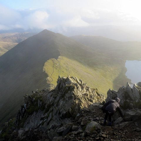 Scramble up Helvellyn via Swirrall Edge