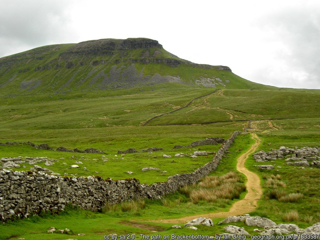 33 - Pen-y-ghent -The Highest Mountains In England - The Top 25