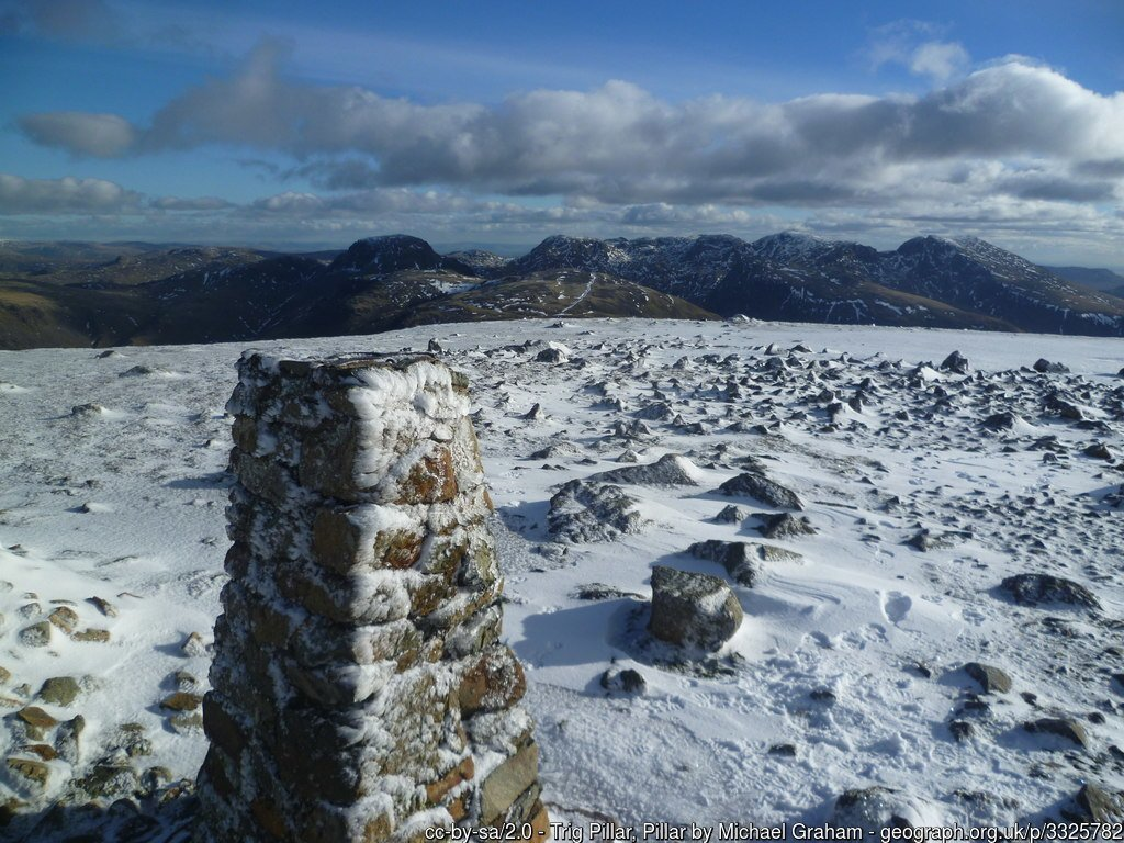 6 - Pillar - The Highest Mountains In England - The Top 25