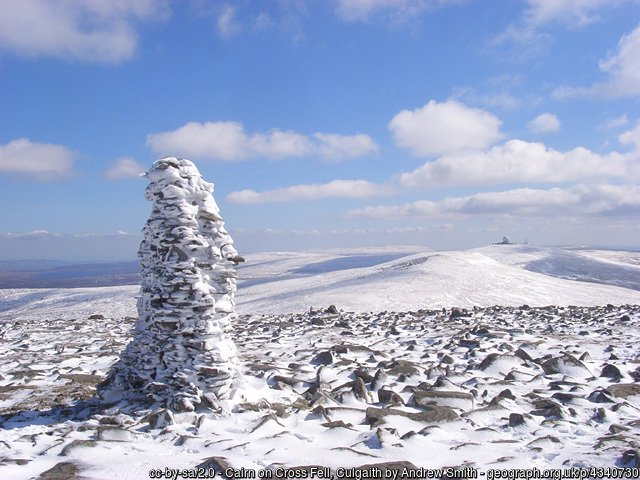 5 Cross Fell - The Highest Mountains In England - The Top 25