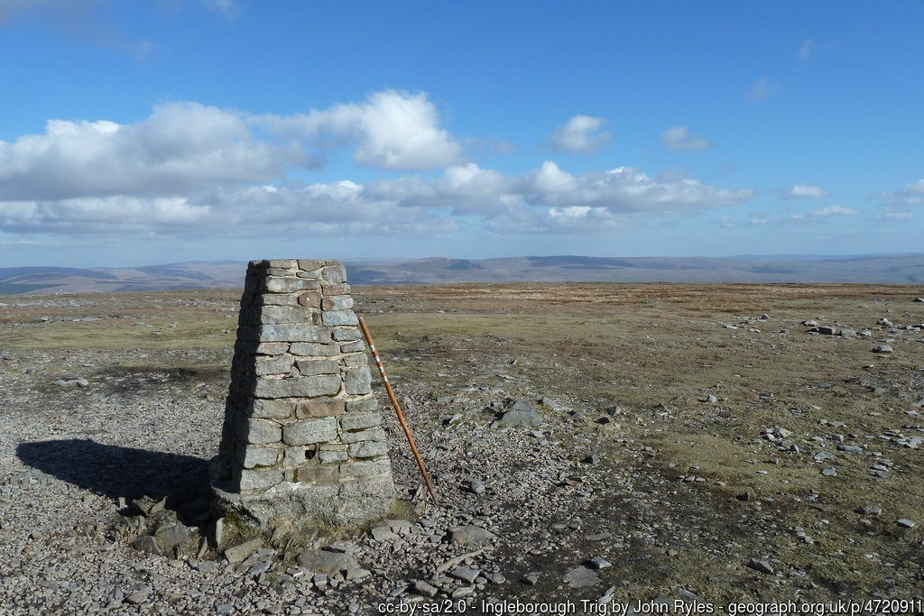 26 - Ingleborough -The Highest Mountains In England - The Top 25