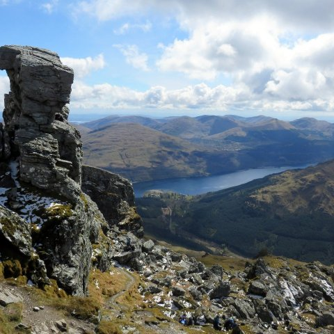 Walk up Beinn Narnain and Ben Arthur (The Cobbler)