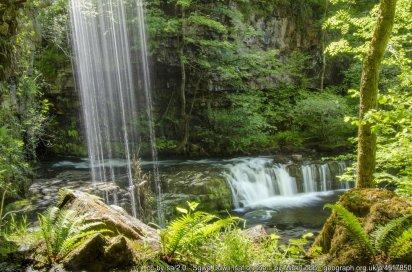 Brecon Beacons Waterfall Country Walk - Elidir Trail Sgwd Gwladus Walk