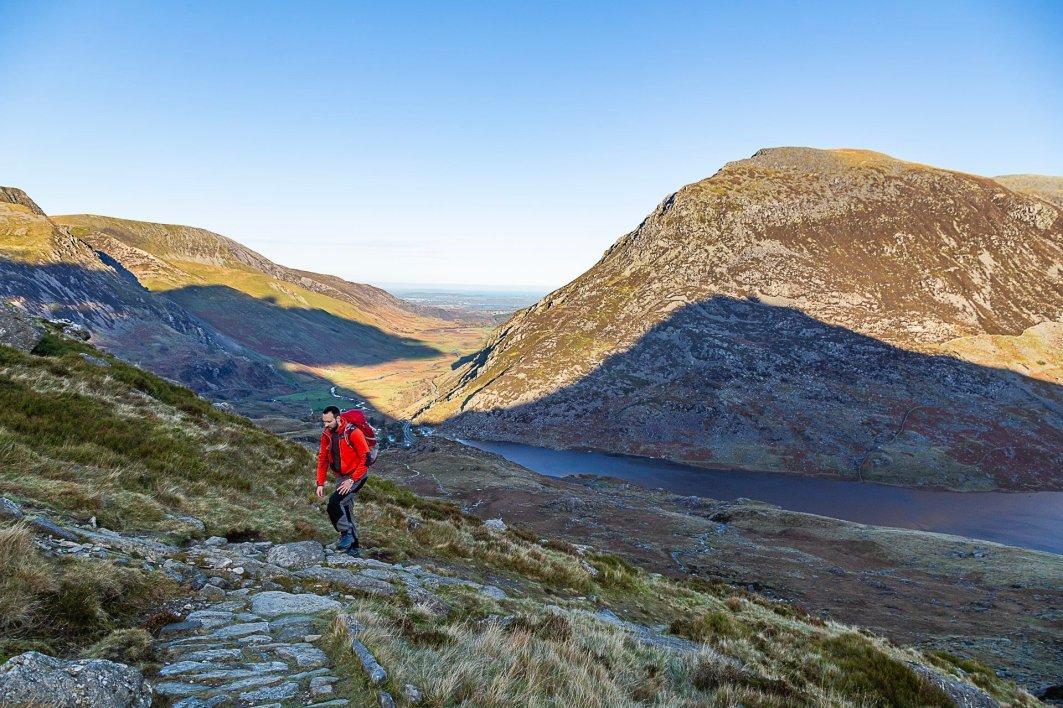 The Gribin Ridge Scramble up Glyder Fach