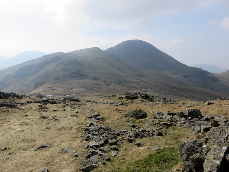 Walk up Great Gable from Honister Pass via Brandreth