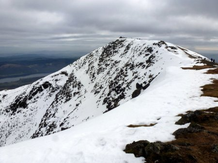 Walk up Old Man of Coniston via Dow Crag and the South Rake