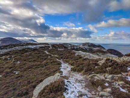 Walk up Mynydd y Dref - Conwy Mountain