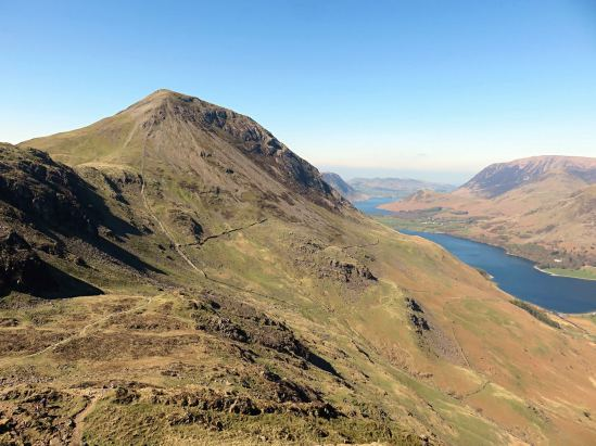 The Buttermere Ridge - High Stile to Haystacks