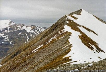 Binnein Mor South ridge.