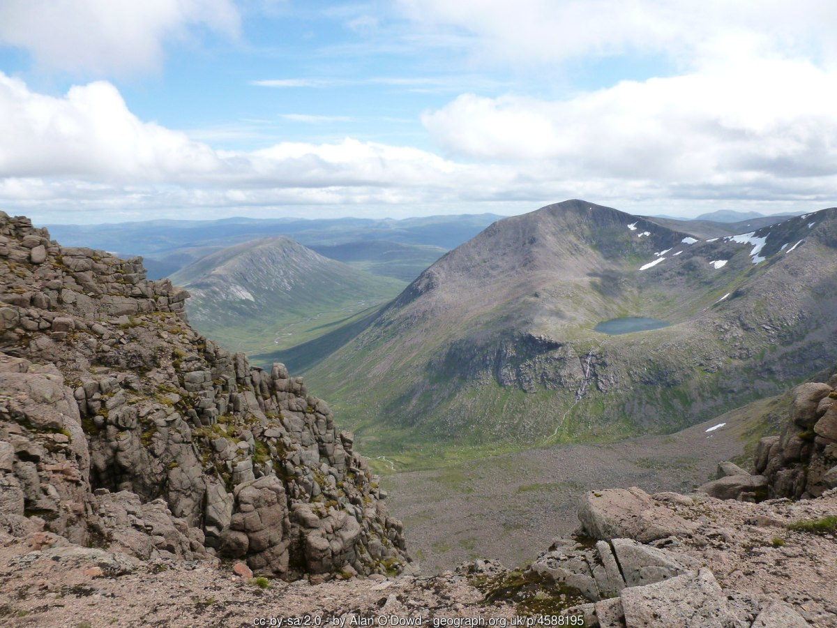 Carn Toul - Highest Mountains in Scotland