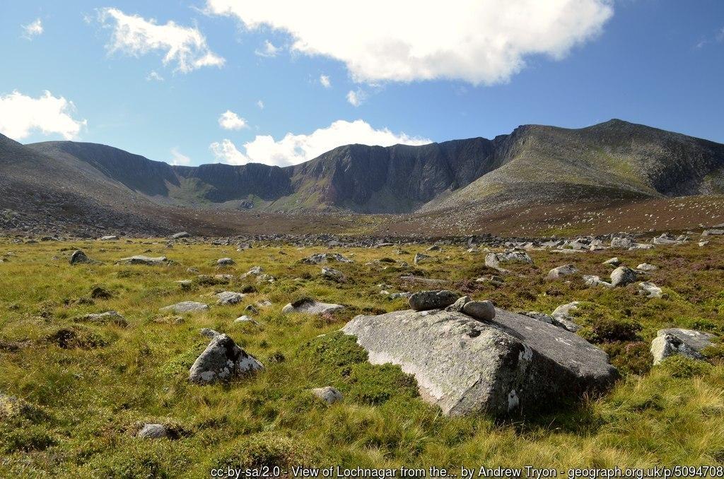 View of Lochnagar