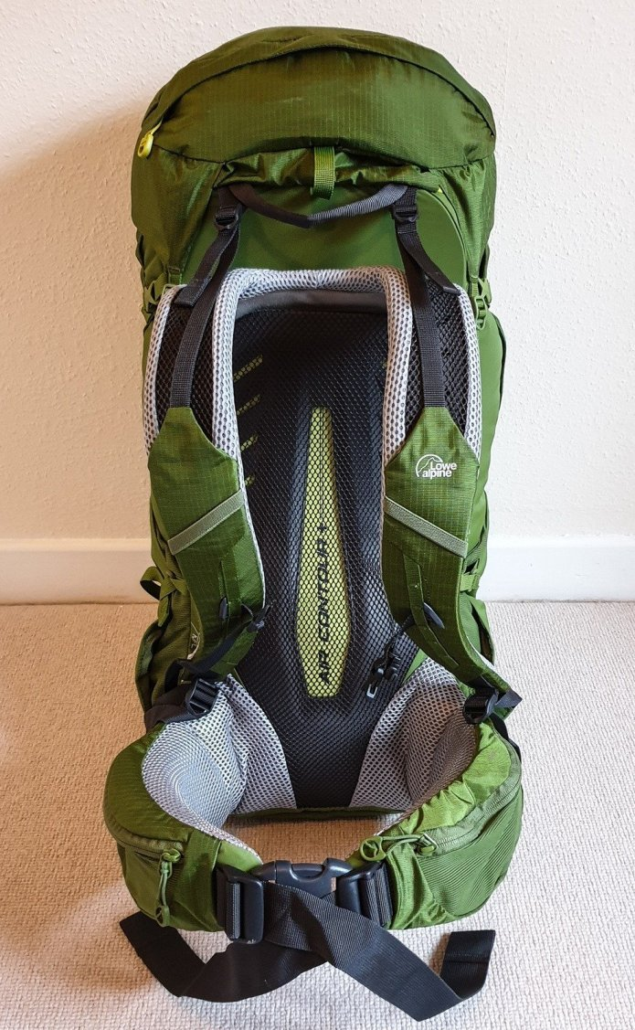 Lowe Alpine Altus 52-57 Pack Review3
