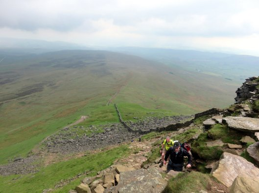 Walk up Pen-y-ghent from Horton in Ribblesdale
