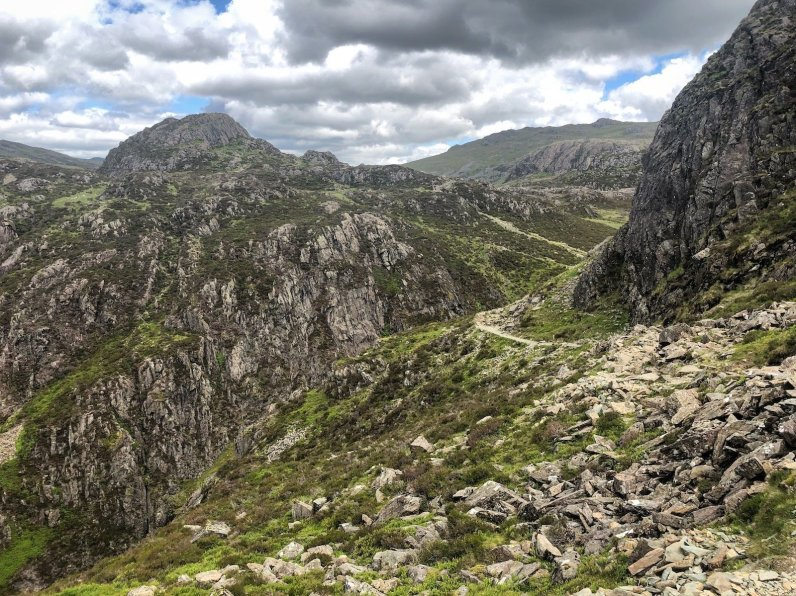 Walk up Haystacks and Fleetwith Pike from Buttermere