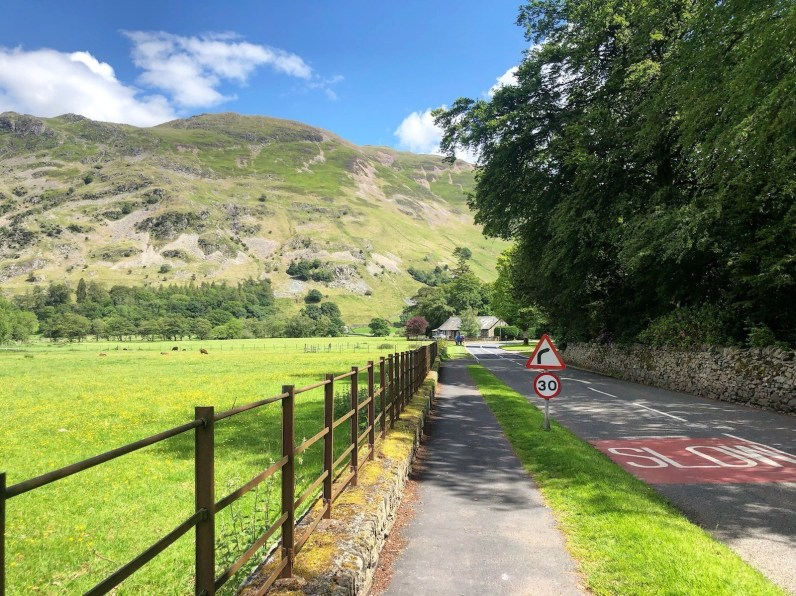 The Ullswater Way - Glenridding to Howtown