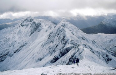 Devil's Ridge From Sgùrr a' Mhàim.
