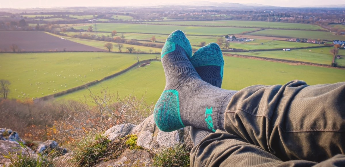 1000 mile walk sock Review