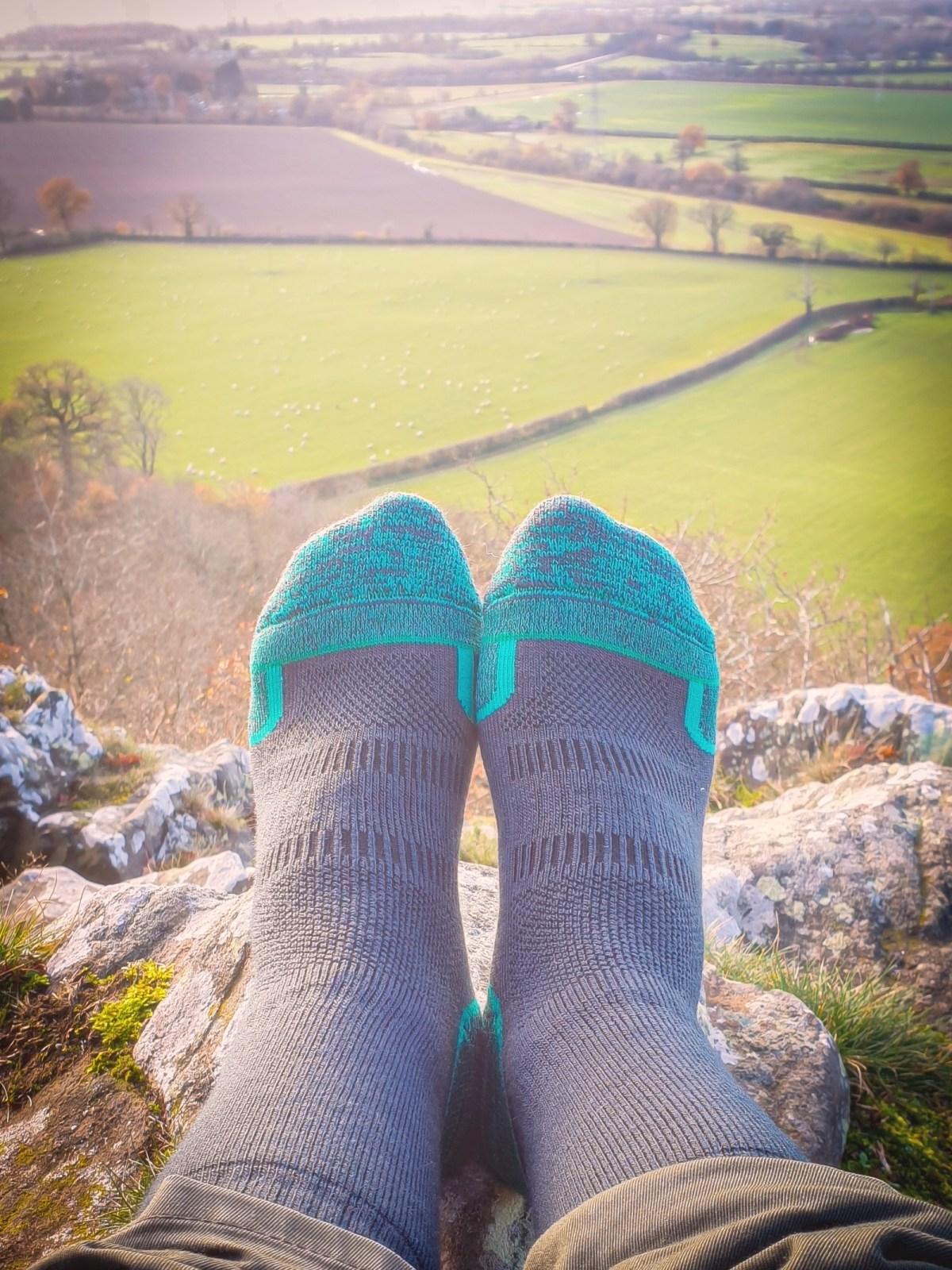 1000 mile walk sock Review