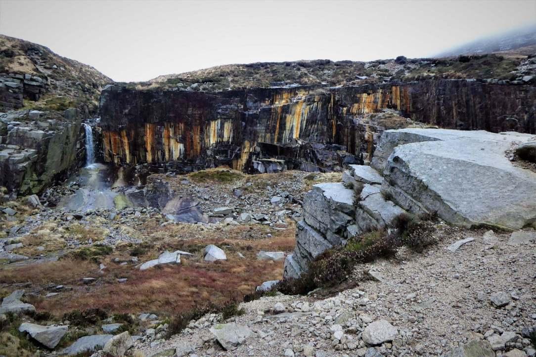 12.0 Crannoge Chimney Rock Mountain via Carr's Face Quarry