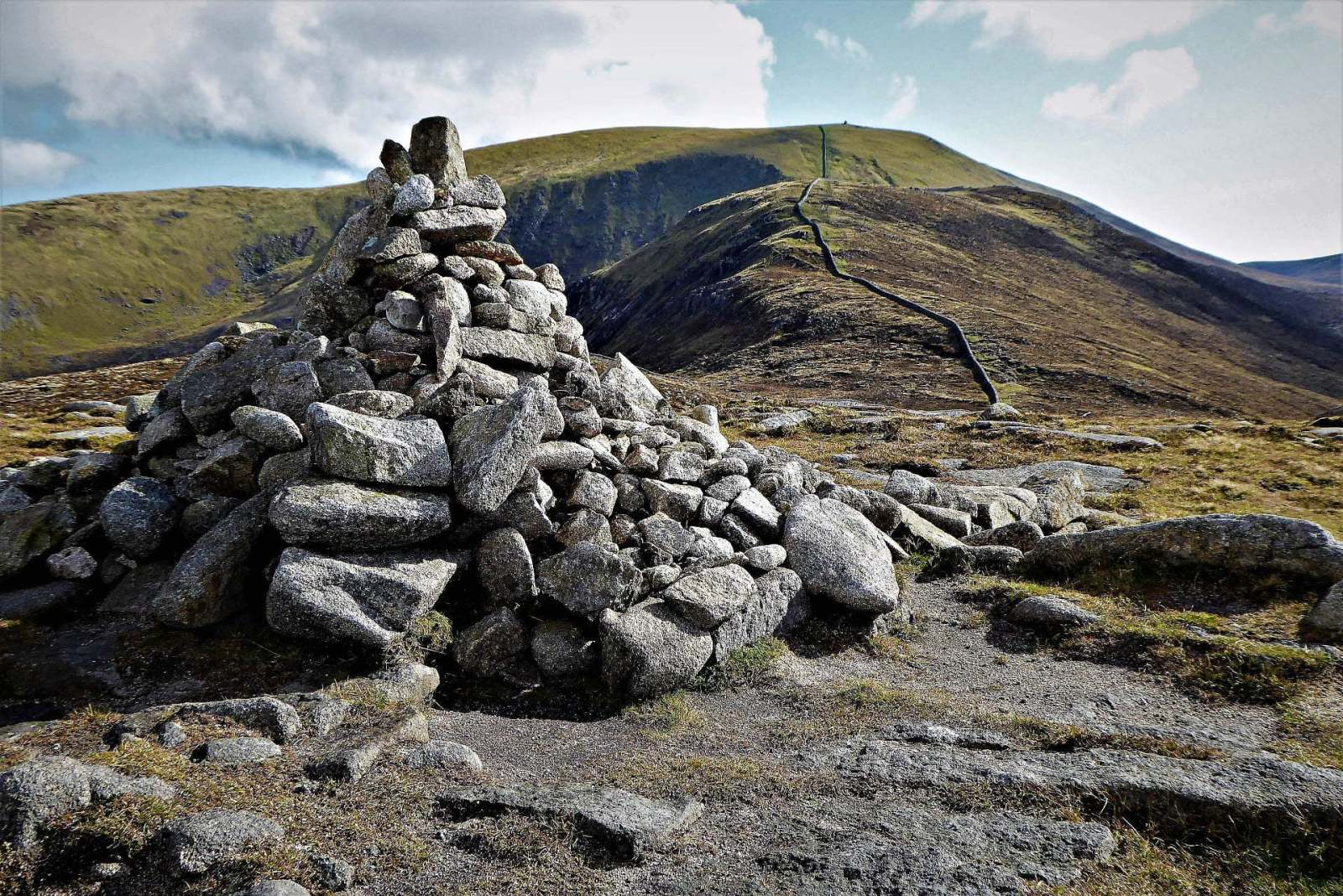 Walk up Slieve Commedagh via Hare's Gap
