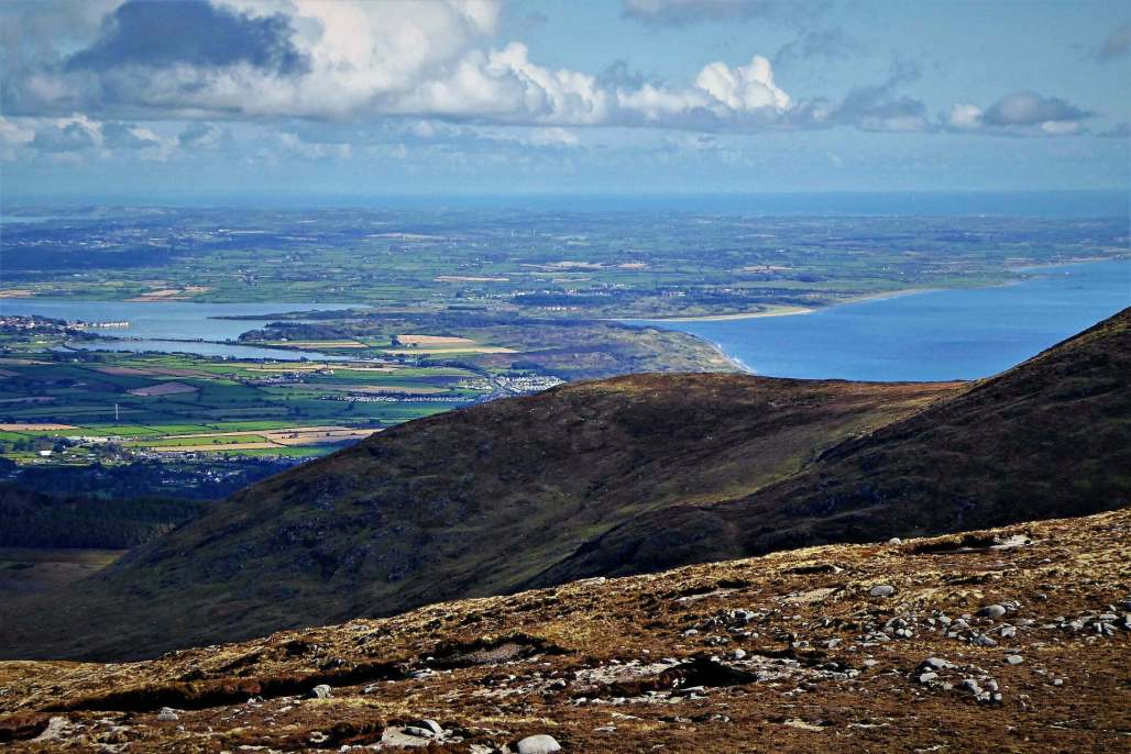 6.0 Slieve Commedagh via Hare's Gap