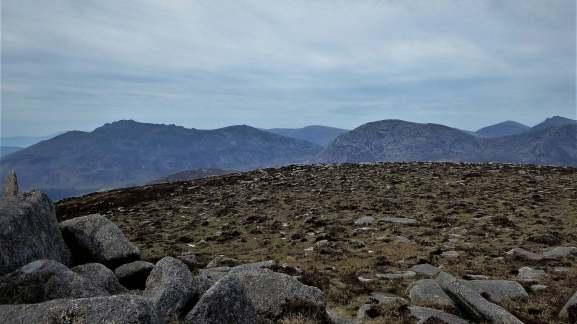 7.1 Chimney Rock Mountain via Carr's Face Quarry