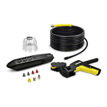 Roof Gutter and Pipe Cleaning Kit