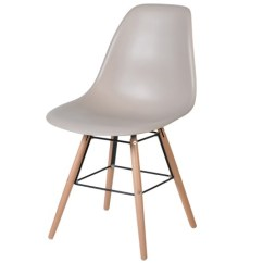 Kitchen Chairs How To Build A Bar By Mudd Co Shell Plastic Dining Chair Nude