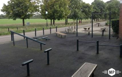 Image result for park workout bars
