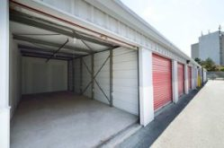 spacious self-storage units