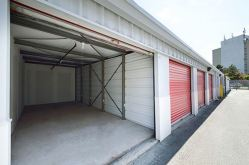 spacious self-storage units