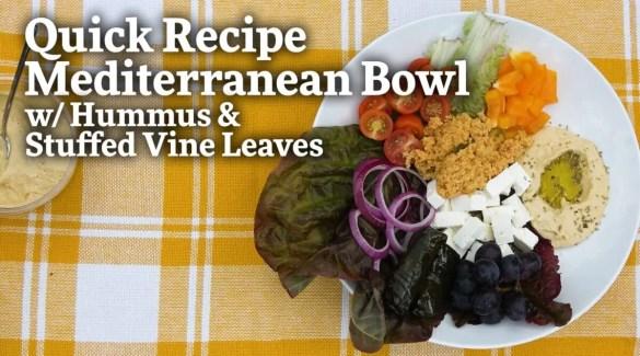 How to Make a Mediterranean Bowl