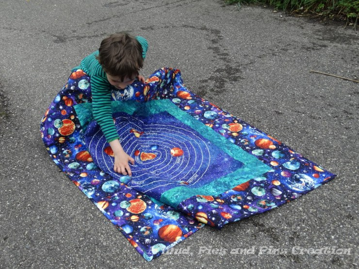 """Out of This World"" quilt 