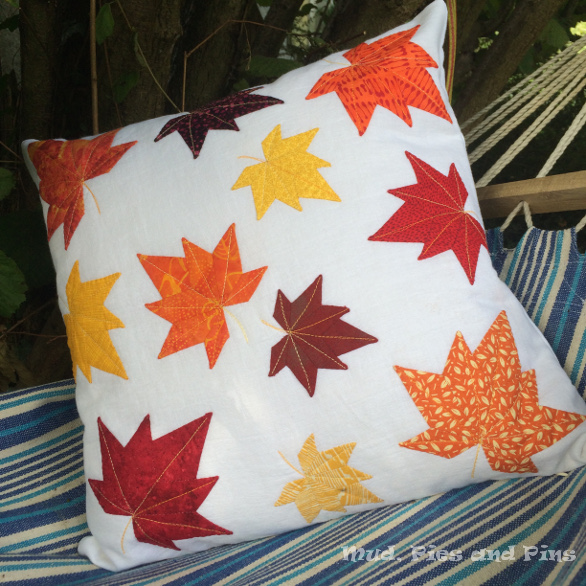 EPP maple leaf cushion | Mud, Pies and Pins
