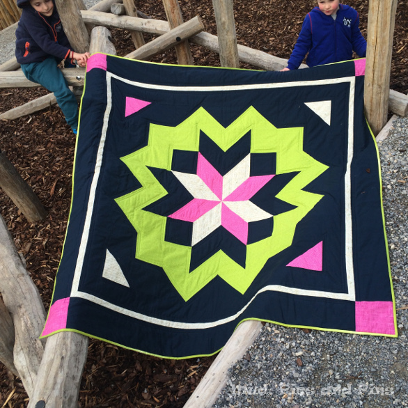 Surround star quilt | Mud, Pies and Pins