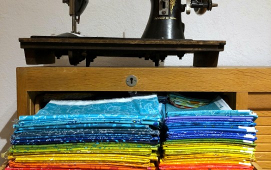 Sun Print EPP Quilt Design