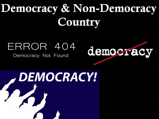 List of Democratic And Non-Democratic Countries In The World