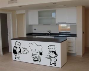 Elegir los colores y la decoracin de la cocina