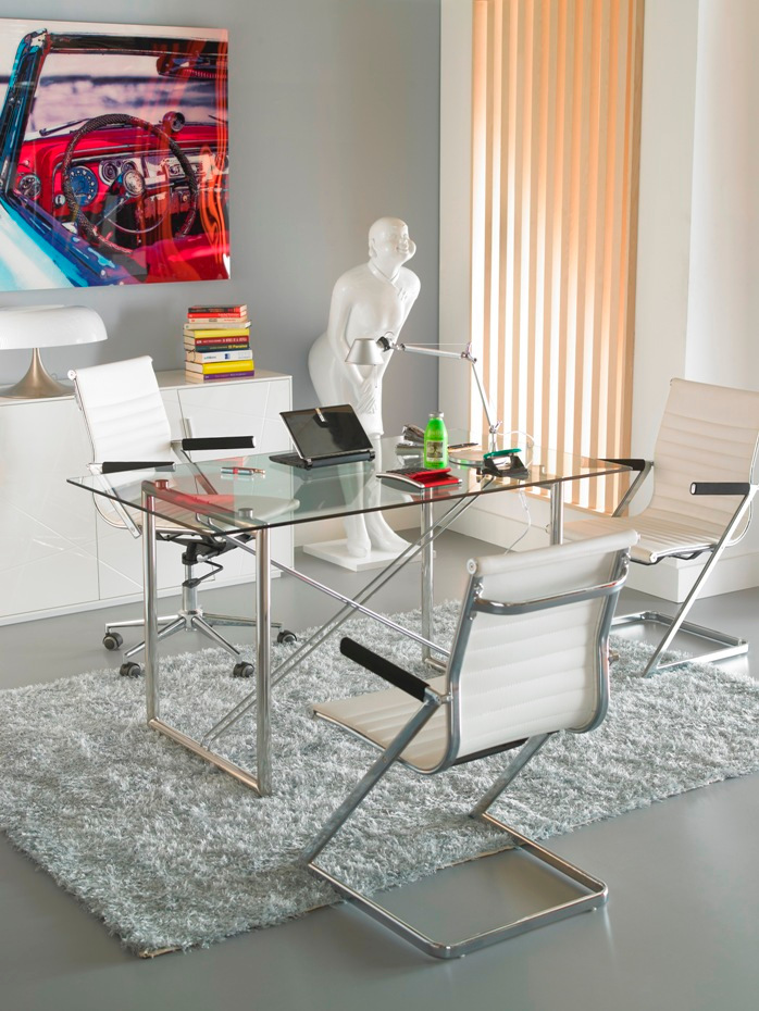 zeta desk chair hanging papasan with stand office spilt table furniture from spain camino a casa silla oficina mesa jpg