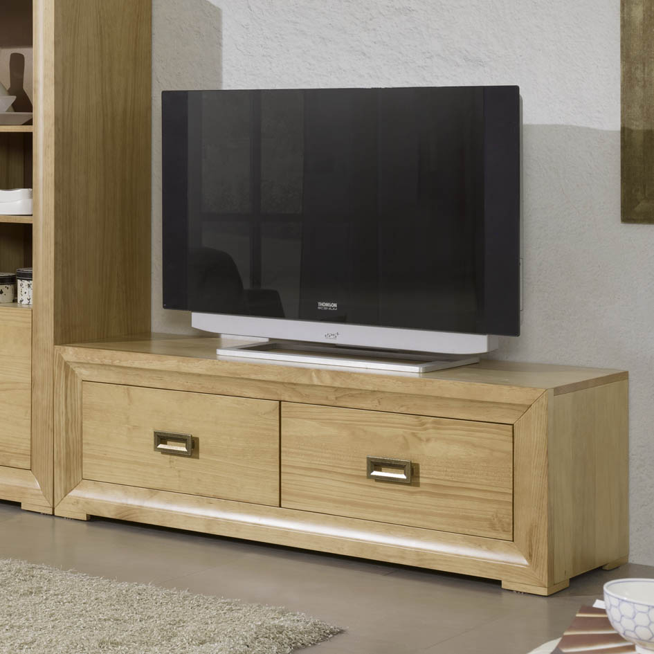 Mueble tv colonial toscana de 2cajones mueble home - Mueble tv colonial ...