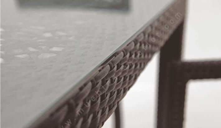 Mesas de jardn medidas entre 120 y 160 cm