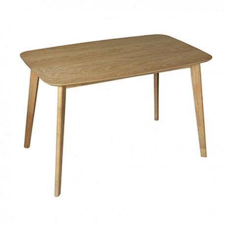 Mesa de comedor rectangular de estilo nrdico y excelente
