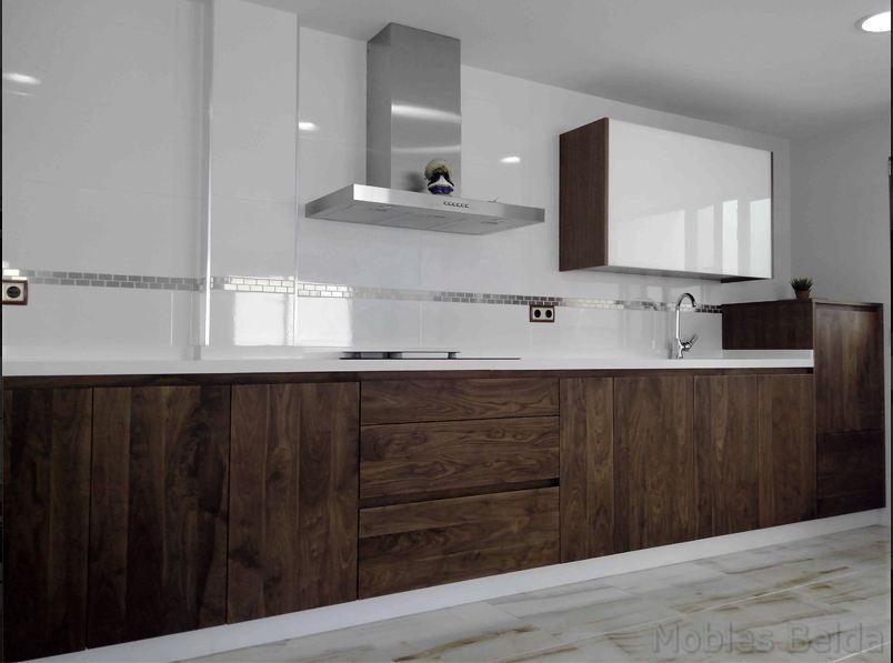Cocina moderna 5  Muebles Belda